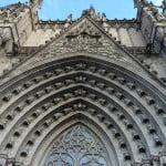 pórtico catedral barcelona