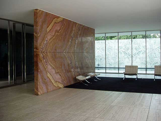 Pabellón de Mies van der Rohe / Vicens