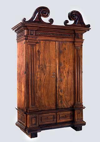 armario privielgios barroco