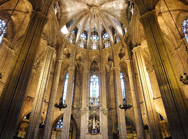 ábside catedral barcelona