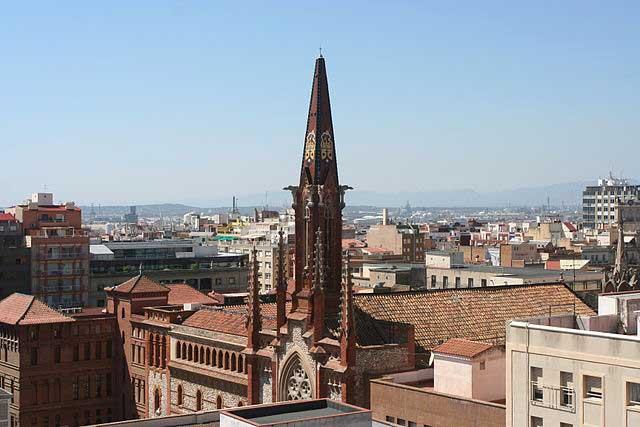 Imagen del convento de los Padres Carmelitas Descalzos (Tarragona) / Aniol