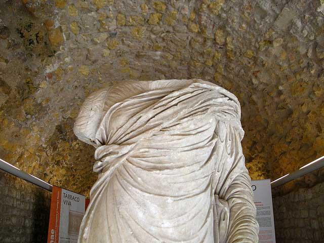 La Tecleta (Tarragona) es una escultura romana de más de 2000 años de antigüedad / Malouette