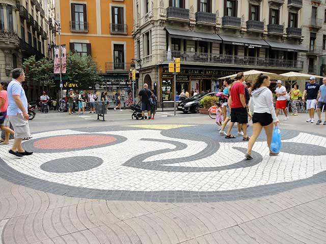mosaico Joan Miró