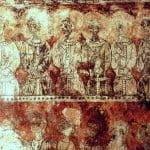 pintura mural templarios