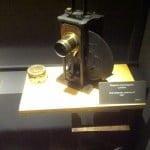Proyector Lumière fabricado en 1897 en el Museo de Girona-Colección Tomàs Mallol