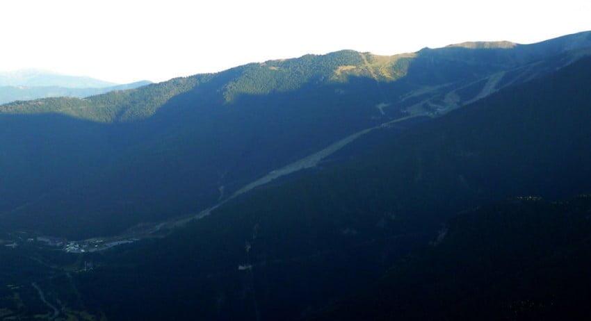 Pistas de la estación de esquí de Espot