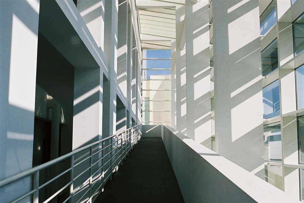 Interior del MACBA