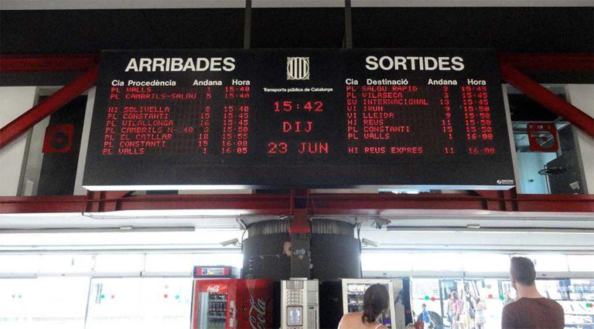 Estación de autobuses Tarragona