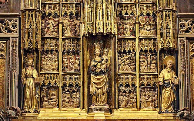 Retablo mayor de la Catedral de Tarragona