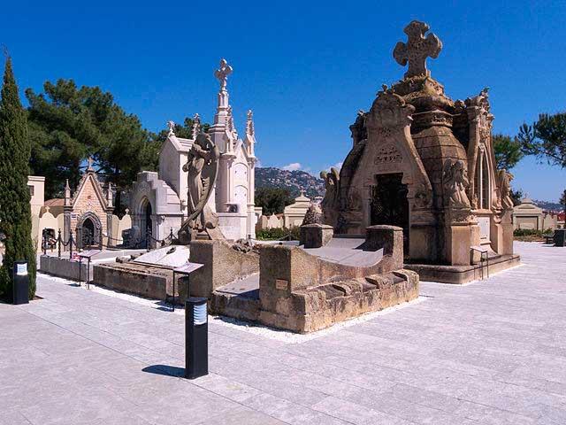 cementerio Lloret de Mar